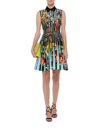 Mary Katrantzou | Black Short Dress | Lyst