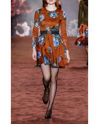 Lena Hoschek Alice Blue Rose Dress
