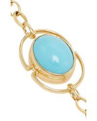 Monica Rich Kosann - Multicolor 18k Yellow Gold Locket Bracelet - Lyst