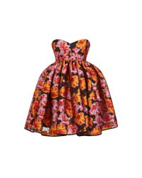 Maticevski Red Fandango Mini Dress