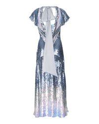 Temperley London Metallic Ruth Sequin Cocktail Dress