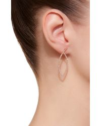 Kim Mee Hye - Pink Single Studd Teardrop Earring - Lyst