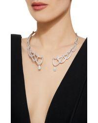 Tasaki - White High Jewelry Diamond Necklace - Lyst