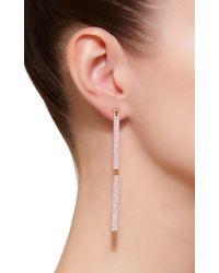 Kim Mee Hye - Single Pink Sapphire Swing Swing Earring - Lyst