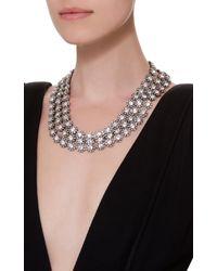 Lulu Frost - Metallic Beam Layered Crystal Necklace - Lyst