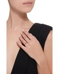 Yi Collection Black 18k Gold Onyx Chain Ring