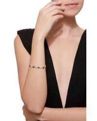 Colette - Multicolor Glow Star 18k Black And White Gold Diamond Bracelet - Lyst