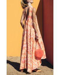 Cult Gaia Pink Rosa Trapeze Dress
