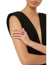 Wendy Yue - Pink Sapphire Flower Ring - Lyst