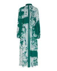 Tibi Green Leilani Dress
