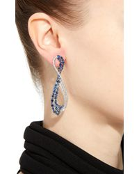 Hueb - Apus Earring With Blue Sapphires - Lyst
