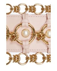 Balmain Pink Taiga Earrings