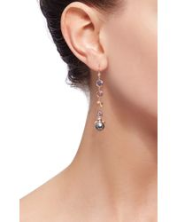 Daniela Villegas - Multicolor 18k Gold And South Sea Pearl Nefertiti Fairy Earrings - Lyst
