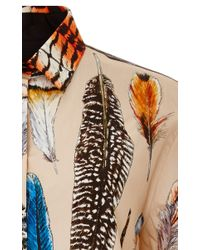 Swash London - Brown Plumage Leopard Collector Shirt - Lyst