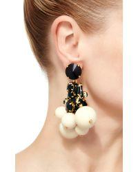 Marni - White Strass Drop Earring - Lyst