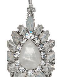 Marchesa - Metallic Casa Blanca Earrings - Lyst