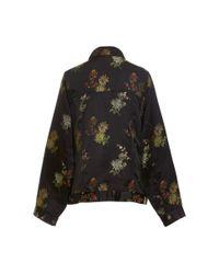 Cynthia Rowley Multicolor Silk Embroidered Jean Jacket