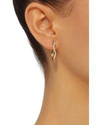 Yvonne Léon - Metallic 18k Gold Diamond Earrings - Lyst