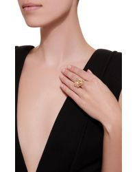 Anabela Chan - Metallic M'o Exclusive Gold Butterfly Pearl Ring - Lyst