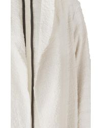 DANEH - White Robe Jacket - Lyst