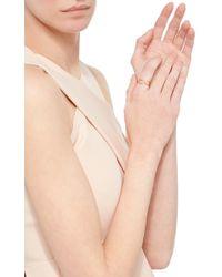 Jordan Askill | Metallic Birthstone Heart Ring With Hidden August Gem | Lyst