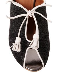 Malone Souliers Black Dawn Leather-trimmed Cutout Sandals