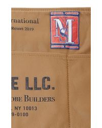 Monse Brown Leather Apron Belt