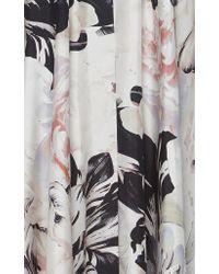 Ralph&Russo - Multicolor Floral Silk Caftan Coat - Lyst
