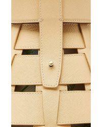 Rosie Assoulin Natural Beeker Shoulder Bag