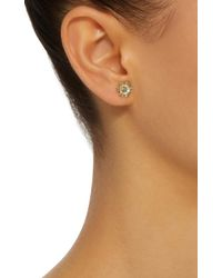 Yvonne Léon - Blue 18k Gold Multi-stone Stud Single Earring - Lyst
