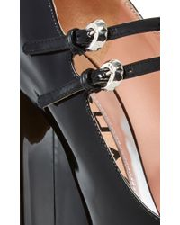 Rochas - Black Enea Patent Leather Mary Janes - Lyst