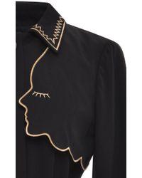 Vivetta - Black Narciso Trench Coat - Lyst