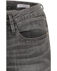 FRAME Gray Le Mini Boot Cut Jean