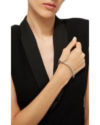 Charlotte Chesnais - Metallic Silver Bond Bracelet - Lyst