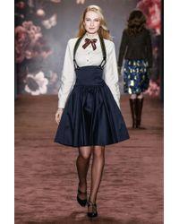 Lena Hoschek Blue Lena Navy Skirt