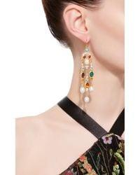Ben-Amun | Multicolor Byzantine Pearl Multi-stone Earrings | Lyst
