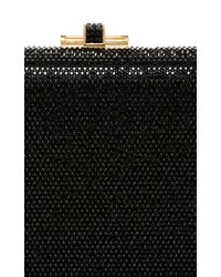 Judith Leiber Couture | Black Embellished Rectangle Clutch | Lyst