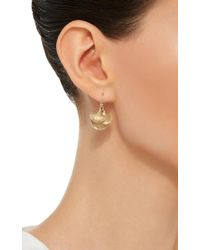 Annette Ferdinandsen - Metallic 14k Gold Ginko Cluster Earrings - Lyst