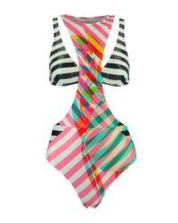 Salinas | Multicolor Stripe Double One Piece | Lyst
