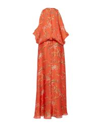 Alexis | Angia Red Floral Maxi Dress | Lyst