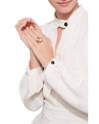 Anabela Chan | Metallic Bouquet Ring | Lyst