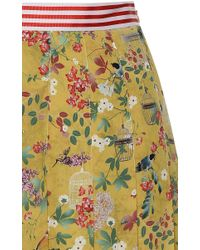 Stella Jean - Multicolor Piccante Flared Pleated Skirt - Lyst