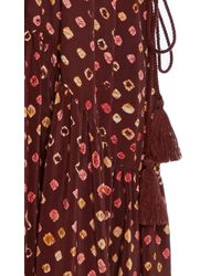 Ulla Johnson Multicolor Lotte Printed Midi Dress