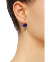 She Bee - Blue 14k Gold Topaz Earrings - Lyst