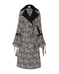 Prabal Gurung | Black Trench Coat | Lyst