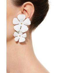 Jennifer Behr - Metallic Gold-plated Earrings - Lyst