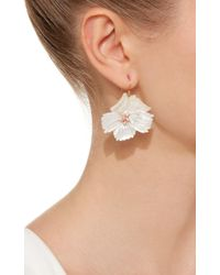 Annette Ferdinandsen - White M'o Exclusive Wild Rose Mother Of Pearl Earring - Lyst