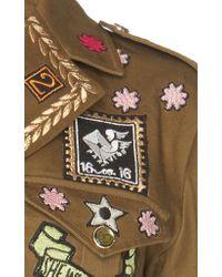 Temperley London Green Memento Jacket