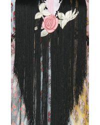 Giamba Multicolor Printed Silk Dress