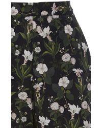 Vivetta - Multicolor Tordo Garden Poplin Cropped Pants - Lyst